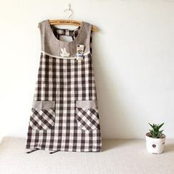 Timbera - Plaid Apron