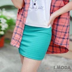 OrangeBear - Pencil Mini Skirt