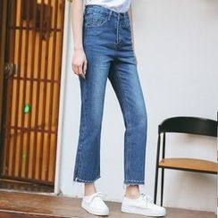 SUYISODA - Straight-Cut Jeans