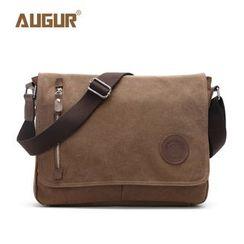 AUGUR - Canvas Messenger Bag