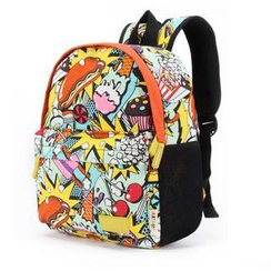 Ausqi - Kids Printed Canvas Backpack