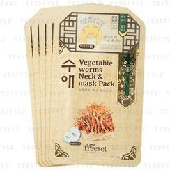 Freeset - Vegetable Worms Neck and Mask Pack