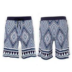 Moonrise Swimwear - Patterned Beach Shorts
