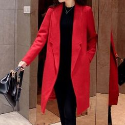 Cobogarden - Woolen Long Blazer