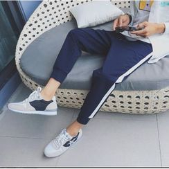 Bestrooy - Striped Jogger Pants