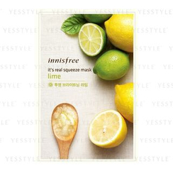 Innisfree - It's Real Squeeze Mask (Lime)