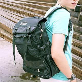 B.B. HOUSE - Canvas Backpack