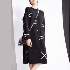 Halona - Long-Sleeve Knit Dress