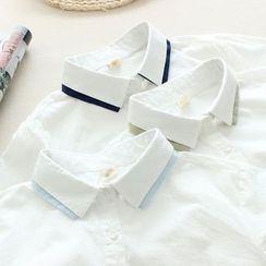 Mushi - Two-Tone Shirt