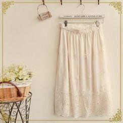 Fairyland - Lace Maxi Skirt