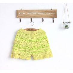 11.STREET - Crochet Shorts