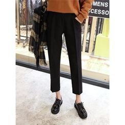 hellopeco - Flat-Front Dress Pants