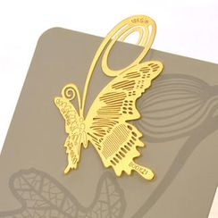 ioishop - Butterfly Bookmark - Gold