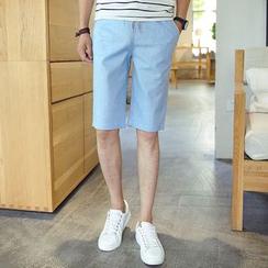 Blueforce - Drawstring Waist Shorts