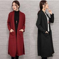 Salisha - Open Front Long Jacket
