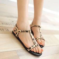 ZIMA - T-Strap Sandals
