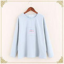 布衣天使 - 贴布绣卫衣