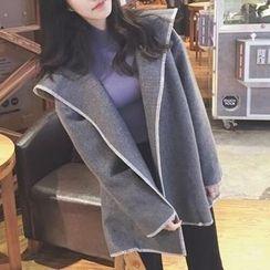 Cloud Nine - Long Woolen Coat