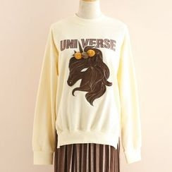 11.STREET - Unicorn Applique Pullover