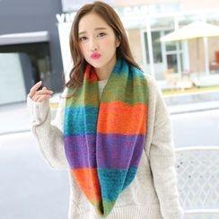 Rita Zita - Color Block Knit Neck Warmer