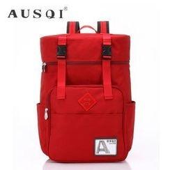 Ausqi - Waterproof Buckled Backpack