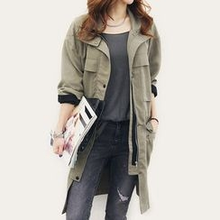 NANING9 - Flap-Pocket Parka