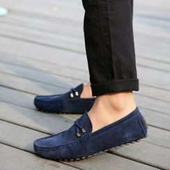 MARTUCCI - Faux-Suede Loafers