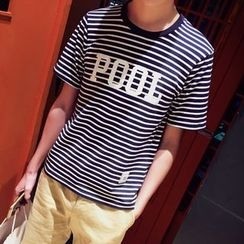 JVR - Short-Sleeve Striped T-Shirt