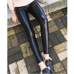 Oaksa - Faux Leather Leggings