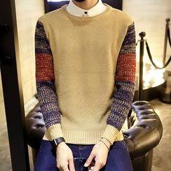 DUKESEDAN - Color Block Sweater