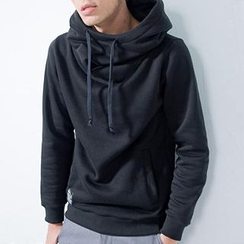 Free Shop - Drawstring Hooded Pullover