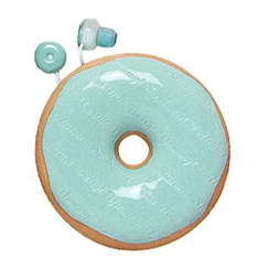 Zumreed - Zumreed Donuts Earphone (Cord Wrap + Earphones) (Mint Chocolate)