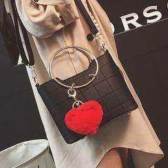 Youshine - Heart Hoop Shoulder Bag