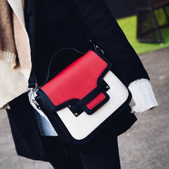 Devant - Color Block Satchel