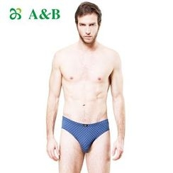 AnB - Set of 2: Printed Briefs