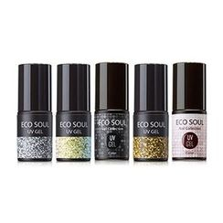 The Saem - Eco Soul Nail Collection UV Gel Glitter