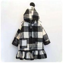 Rakkaus - Kids Plaid Coat