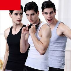 Northin - Cotton Tank Top Set (3pcs)