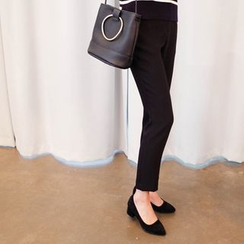 mimi&didi - Pocket-Side Tapered Dress Pants