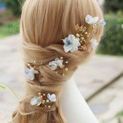 constello - Flower Bridal Hair Pin