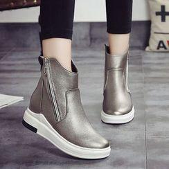 YIVIS - Zip Platform Short Boots