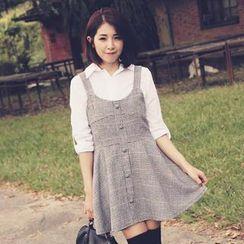 Tokyo Fashion - Houndstooth Tank Dress