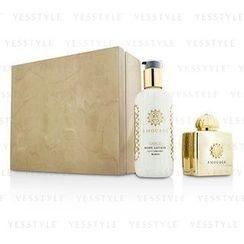 Amouage - Gold Coffret: Eau De Parfum Spray 100ml/3.4oz + Body Lotion 300ml/10oz