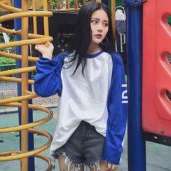 Shopherd - Raglan Long-Sleeve T-Shirt