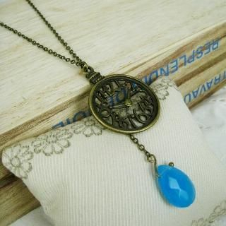 MyLittleThing - Copper Pocket Watch Necklace