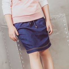 Lemony dudu - Kids Denim Skirt