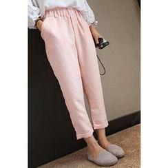 SiSiSi - High-Waist Cropped Pants