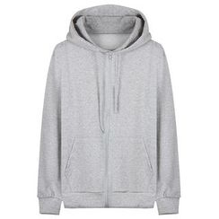 Seoul Homme - Colored Zip-Up Hoodie