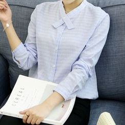 Tangi - Pinstriped Plain Shirt