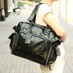 Yiku - Faux Leather Shoulder Bag
